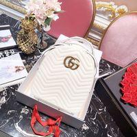 Wholesale designer handbags crystal - Original Luxury famous brand 2018 AAAAA designer top bags school backpack handbag lady students Backpacks Laptop girl women 180713005