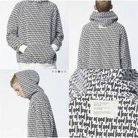 hoodies impressão venda por atacado-Medo de Deus Com Capuz Carta Completa Impressão Justin Bieber Moletom Com Capuz Homens Hip Hop Skate Fear Of God Hoodies