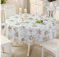 manteles de boda amarillo al por mayor-Mesa de tela impresa cubierta de tabla rojo azul púrpura para la decoración del banquete de boda del banquete de envío gratis