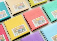 sıcak 68 toptan satış-Sıcak Ev Bahçe 68 Cepler Mini Anında Polaroid Fotoğraf Albümü Fujifilm Instax Mini Film için resim Vaka Depolama 7 s 8 Kore instax mini albümü