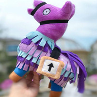 Wholesale stuffed animals - Fortnite Troll Stash Llama Figure Doll Soft Stuffed Animal Toys Fortnite Stash Llama Plush Toy cartoon Stuffed doll cm plush toy