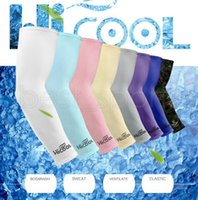 Wholesale Armed Motorcycle - 9 colors Unisex Cycling Arm Warmers Sleevelet Cover Outdoor Bicycle Bike Sun Protection Arm Sleeve Motorcycle Accessories GGA525 100pairs