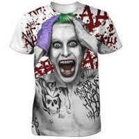 ingrosso sottogonne donna-Suicide Squads Design creativo T-shirt Uomo Donna Estate 3D Cartoon Manica corta Girocollo T Shirt Maglietta Fitness Tee T1
