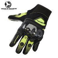 жесткие перчатки оптовых-Rock Biker Hard Shell Motorcycle Gloves Off Road Full Finger Racing Luvas Motociclismo Motocross Glove Motorsiklet Eldiveni