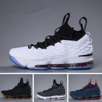 sports shoes 89aa4 d2790 2018 Ashes Ghost Blumengleichheit Lebron 15 Basketballschuhe Herren Lebron  Schuhe Sneaker 15s Herren Sportschuhe James 15 us 7-12