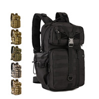 Wholesale Tactical Assault Backpack Hydration - 30L Tactical Backpack MOLLE Large Waterproof Assault Backpack Laptop Pack with Hydration Bladder Pocket for Hiking Camping Climbing