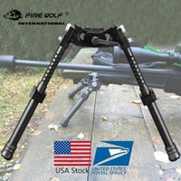 Wholesale FIRE WOLF NEW LRA Light Tactical Bipod Long Riflescope Bipod For Hunting Rifle Scope