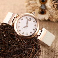 Wholesale Different Models - Unique Fashion Model High Quality Leather Strap Women Watch with Different Color