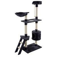 "Wholesale Cat Tree Condo House - New 60"" Cat Tree Tower Condo Scratcher Furniture Kitten Pet House Hammock Gray"