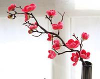 ingrosso fiore di ciliegio cinese-Fiore d'imitazione, fiore di prugna cinese, commercio estero, fiori di ciliegio, decorazioni per la casa, fiori per matrimoni, W151