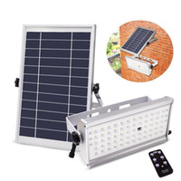Wholesale power install - Motion Sensor Solar Lights Outdoor 1500LM 65LED Waterproof Wireless Solar Powered Security Light Super Bright Easy Install Remote control