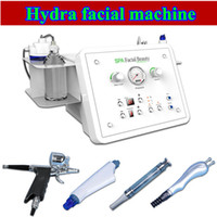 Wholesale oxygen therapies - Hydro Microdermabrasion Water Hydra Dermabrasion Spa Facial Skin Oxygen Therapy Pore Cleaning Machine diamond microdermabrasion BIO-lifting