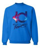 ingrosso felpe a pallacanestro-New Kevin Durant Basket Autunno Inverno Moda Uomo Felpe Felpe con cappuccio Hip Hop Nero Blu Streerwear Felpe