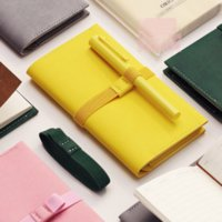 Wholesale traveler notebook diary - 1 Pcs set portable traveler Notebook diary stationery travel journal faux leather cover Notebook