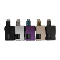 Wholesale feeder singles for sale - Group buy HugsVape Surge Squonk Kit with mm Piper RDA W Mod ml Food Grade Silicon Bottle Bottom Feeder Pin Original
