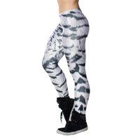 ingrosso gilet leggings in tigre-T-shirt da donna attillata legging per pantaloni a vita bassa, leggings attillati skinny fitness