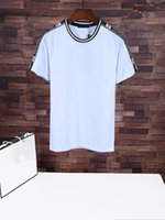Wholesale foreign short sleeve - 2018 t shirt for men Leisure Pure Cotton tshirt Round Foreign quote t-shirt design customize tracksuit All hop new