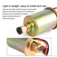 bomba de aceite libre al por mayor-Envío libre de baja presión de la bomba de combustible electrónica de transferencia de aceite de la bomba E8012S portátil de gasolina 12V