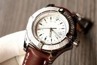 reloj de titanio para hombres al por mayor-reloj de los hombres de negocios de moda. Despegue de importación de movimiento mecánico automático ETA-2824. Espejo de cristal de zafiro. Caja de titanio. Diámetro 45m
