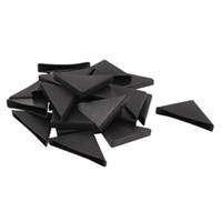 Wholesale furniture shapes - ABWE 24 Pcs Triple-cornered Shape Furniture Glass Table Corner Protector 10mmx75mm