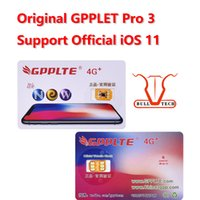 Original GPPLTE Pro 3 4G + Card Neter Air Unlock Sim IOS11 iPhone X 8 8 Plus 7 6S 6 5S RSIM12 GPP Desbloqueio