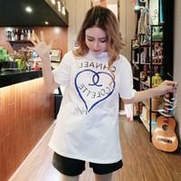 camiseta mujer estilo coreano al por mayor-Nuevo estilo de camisa de fondo estilo retro de Hong Kong camiseta de manga corta ropa de mujer verano blanco coreano camisa pequeña