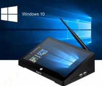 dhl geben verschiffen zolltablette pc frei großhandel-DHL geben Verschiffen Soem PC Windows 10 PROHOEM Andriod 5.1 SCHLÜSSEL PC Intel Z8350 Viererkabel-Kern 4G 64G 10.8 Zoll IPS Tablette PC intelligenter Media Player frei