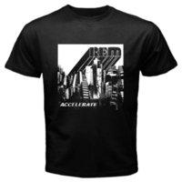 альтернативный день оптовых-Новый R. E. M. ускорить альтернативная рок-группа мужская черная футболка размер S до 3Xl Майка мужчины повседневная с коротким рукавом День Благодарения пользовательские плюс S