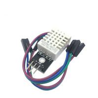 módulo arduino humedad al por mayor-1 UNID DHT22 mono-bus módulo de sensor de temperatura y humedad digital electrónico bloques de construcción AM2302 para arduino de Alta Calidad