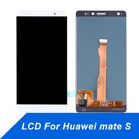 Wholesale cell phone digitizer assembly resale online - Cell Phone Touch Panel for Huawei Mate S LCD Display Repair Touch Screen Digitizer Assembly Screen for huawei mateS