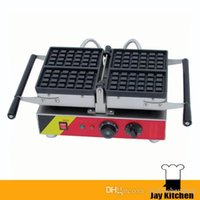 Wholesale Popular Electric - popular commercial square waffle machine electric flip waffle making machine electric home waffle maker stainless steel