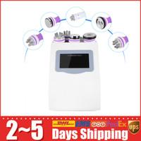 5 In 1 Effective Strong 40K Ultrasonic Cavitation Slimming Vacuum RF Skin Firm Body Lift Red Photon Machine