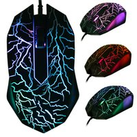 ingrosso game mouse-3200 DPI LED Optical 3 Pulsanti 3D USB Wired Gaming Game Mouse Pro Gamer Computer Mouse Per PC Regolabile USB Wired Gaming Mouse