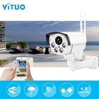 Wholesale Zoom Wifi Security Camera - Wireless IP Bullet Security Camera 960P 4X Optical Zoom Surveillance Wifi CCTV Camera IP65 Waterproof Outdoor Camara YITUO