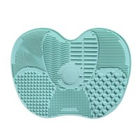 Wholesale large silicone mats - Silicone Makeup Brush Cleaning Mat Washing Tools Hand Tool Large Pad Sucker Scrubber Board Washing Cosmetic Brush Cleaner Tool