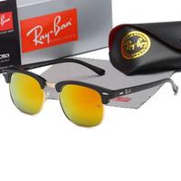 pc için sürücü toptan satış-Erkekler için YENI marka Polarize Havacılık Güneş Gözlüğü kadın Erkek Sürüş gözlük Yansıtıcı Kaplama Gözlük Gece görüş sürüş ayna