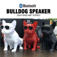 Wholesale S4 Aerobull Nano Wireless Bluetooth Speaker Bulldog Portable W Stereo Super Bass USB TF AUX Outdoor Full Dog Subwoofer Big Size