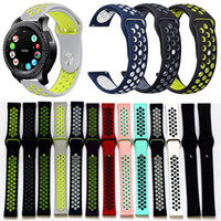 Wholesale injection molding resale online - 13 Colors For Samsung Gear S3 Strap Sports Strap Breathable Two colors Injection Molding Band Strap Bracelet For Tracker Smart Watch Gear S2