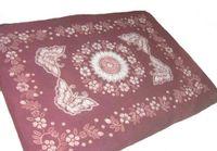 Wholesale Pure Linen Bedding - 100% Handmade Batik Art Pure Cotton Bed Sheet Spread Linen Bedding - Queen #104