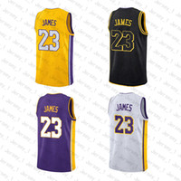 Wholesale m s fashion - 23 LeBron James Men's Basketball Jerseys 3 D Wade 77 Luka Doncic 22 DeAndre Ayton 2018 New Fashion Mens polo shirt