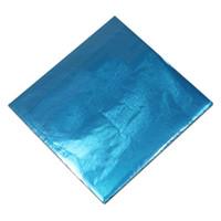 темно-картон оптовых-8000 шт./лот DHL 8 * 8 см красочные шоколад оловянной фольги упаковочная бумага розничная конфеты Снэк упаковка упаковочная бумага для конфет пакет