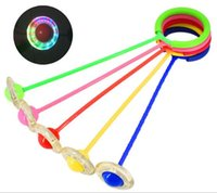 Wholesale outdoor games for sale - Group buy Creative Colorful Children s LED Flash Jumping Ring Dancing Ball Glowing Fitness Educational Toys Funny Game Outdoor Sports CCA10200