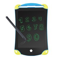 Wholesale kids tablet online - 2018 New Inch LCD Writing Tablet Paperless Kids Handwriting Drawing Board Graphic Tablets Erasable Writing Sketch Board