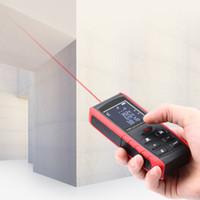 ingrosso strumenti di misura laser-Laser Range Finder Costruzione Laser Distance Meter Righello Laser Telemetro Area digitale / Volume Strumento di misura Spedizione gratuita VB