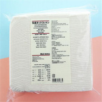Wholesale Nail Remover Wipes - Japanese organic makeup facial cotton pad muji pure face cleaning Nature Pads for facial nail remover face mask for women
