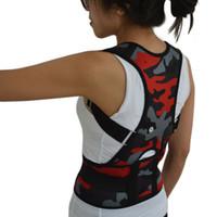 ingrosso nuova cinghia di sostegno posteriore-Nuovo corsetto postura uomini postura correttore uomini donne schiena dritta brace supporto cintura posteriore supporto lombare cintura giubbotto correzione B002