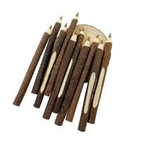 büroumwelt großhandel-50 Teile / los Vintage Holz Individualisierung Kugelschreiber Umwelt Zweig Holz Kugelschreiber Schule Bürobedarf großhandel