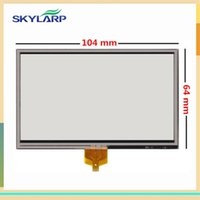 Wholesale xl digitizer - Wholesale- skylarpu NEW 4.3 inch Touch screen for TOMTOM GO 630 730 920 XL N14644 digitizer glass panel