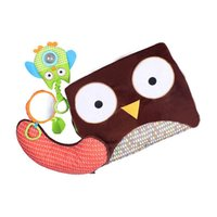 Wholesale Christmas Animals Play - HOT Children Kids Floor Play Mat Owl Animal Baby Game Mat Cute Carpet Kids Room Game Carpet Play Mat STY032