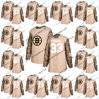 Mens  2018 Camo Veterans Day Boston Bruins Jerseys 33 Zdeno Chara 40 Tuukka  Rask 46 David Krejci 63 Brad Marchand Hockey Jerseys aff892366